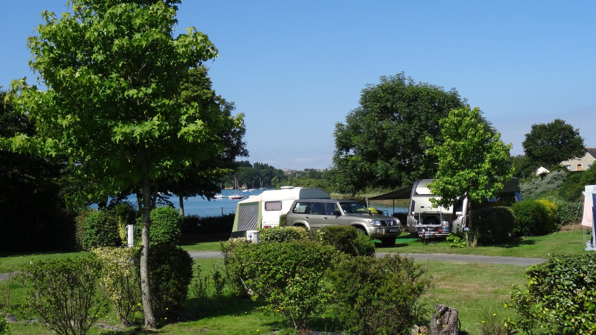 vue mer campingcar détente vue mer camping 2* saint-briac sur mer bretagne
